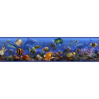 Under the Sea Peel & Stick Border Wall Decal