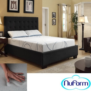 NuForm Luxury Gel Memory Foam 9-inch Dual Layer King-size Mattress