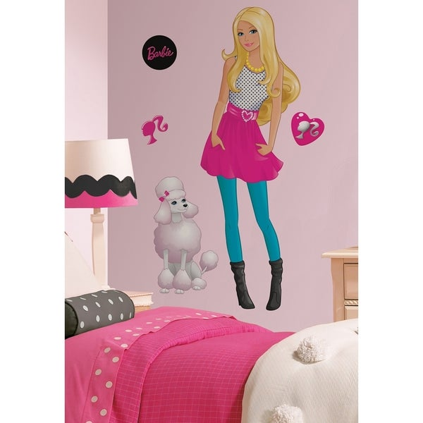 Barbie Peel & Stick Giant Wall Decal