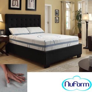 NuForm Luxury Gel Memory Foam 11-inch Dual Layer Twin-size Mattress