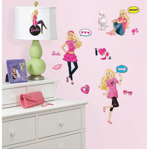 Barbie Peel & Stick Wall Decals