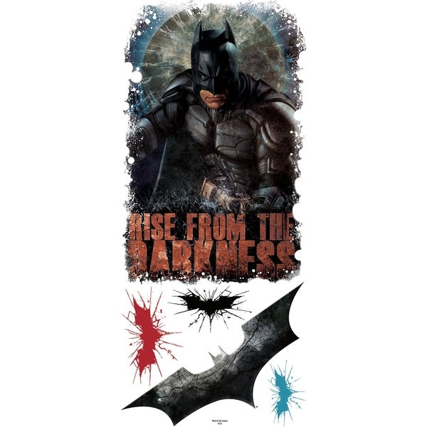 Batman Dark Knight Rises Darkness Peel & Stick Giant Wall Decals