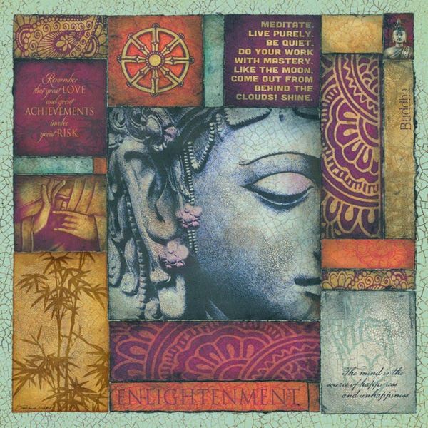 Stephanie Marrott 'Buddha Tapestry 1' Paper Print (Unframed)