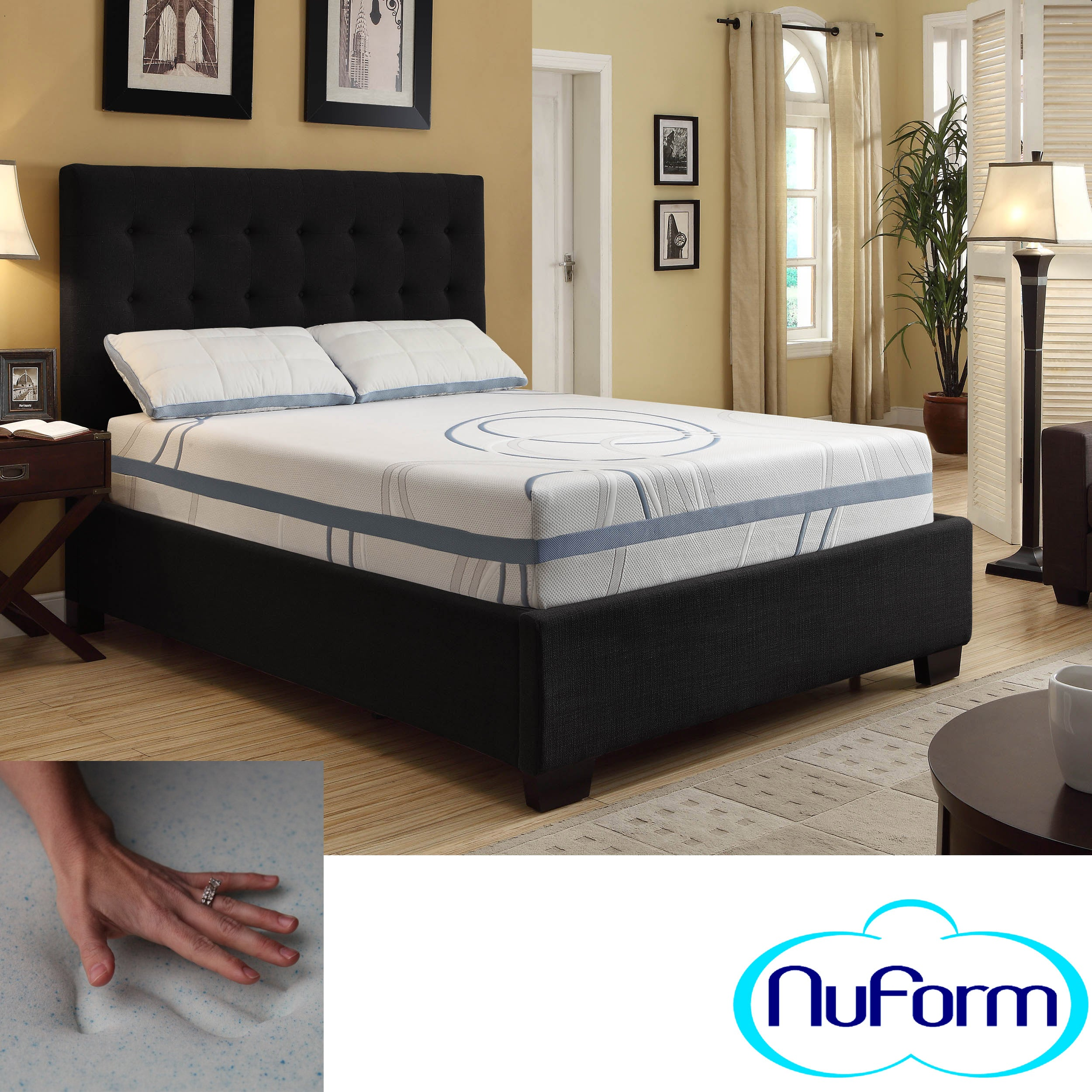 image result for queen size memory foam mattress topper costco