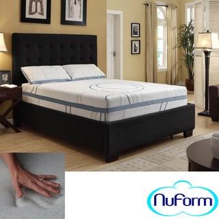 NuForm Luxury Gel Memory Foam 11-inch Dual Layer Queen-size Mattress