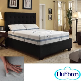 NuForm Luxury Gel Memory Foam 11-inch Dual Layer Queen-size Mattress
