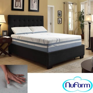 NuForm Luxury Gel Memory Foam 13-inch Dual Layer King-size Mattress