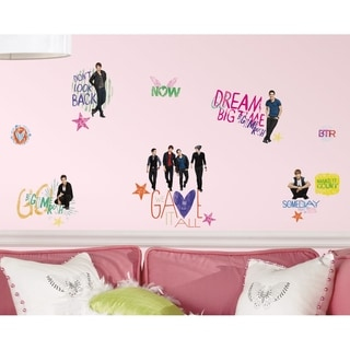 Big Time Rush Peel and Stick Wall Decals