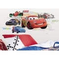 Cars Lightening McQueen Collage Peel & Stick Giant Wall Decal
