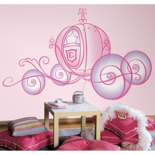 Disney Princess Carriage Peel & Stick Giant Wall Decal