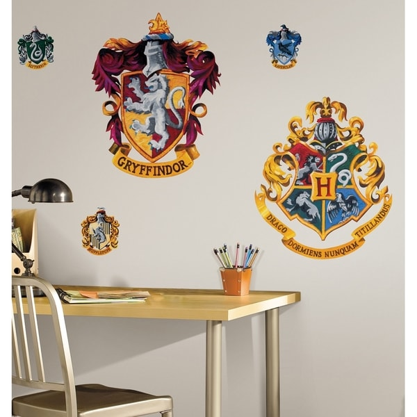 Harry Potter Crest Peel & Stick Giant Wall Decal