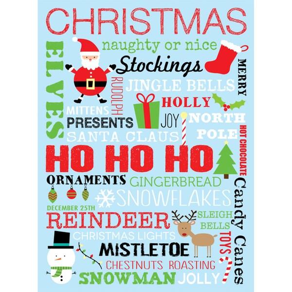 Louise Carey 'Christmas' Paper Print (Unframed)