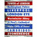 Stephanie Marrott 'London's Famous Places' Paper Print (Unframed)