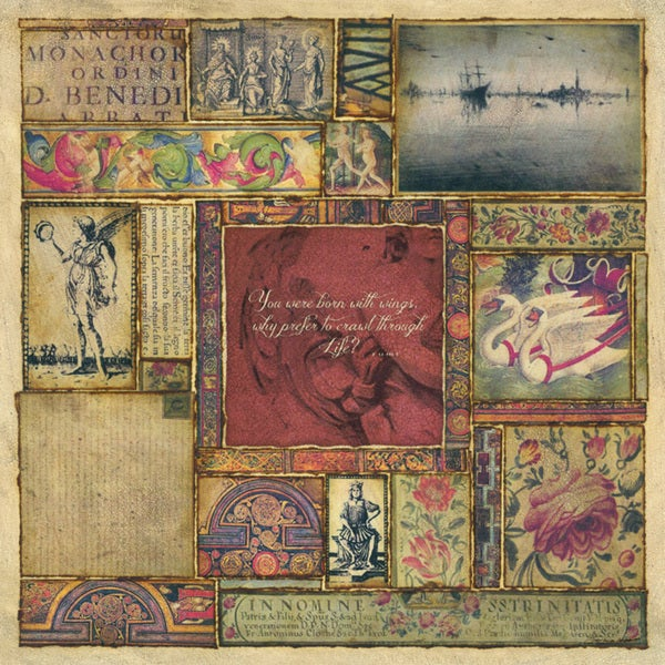 Stephanie Marrott 'Rumi I' Paper Print (Unframed)