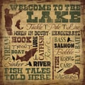 Shawnda Eva 'Welcome to the Lake' Paper Print (Unframed)