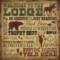 Shawnda Eva 'Welcome to the Lodge' Paper Print (Unframed)