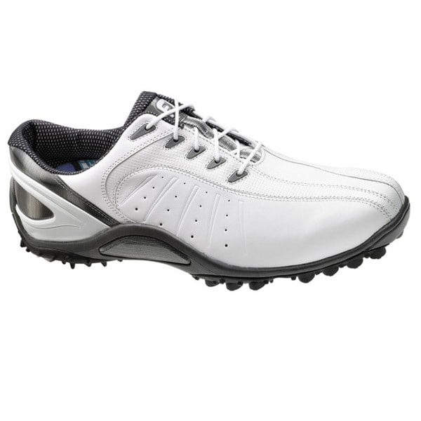 FootJoy Men's 'FJ Sport' White Spikeless Golf Shoes