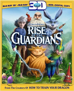 Rise of the Guardians 3D (Blu-ray/DVD)