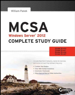 MCSA: Windows Server 2012: Exams 70-410, Exam 70-411, Exam 70-412, and Exam 70-417 (Paperback)
