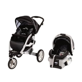 Graco Trekko 3-wheel Stroller Travel System in Metropolis