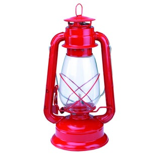 Texsport Red Metal Kerosene Lantern