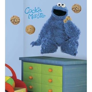 Sesame Street Cookie Monster Peel & Stick Giant Wall Decal