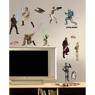 Star Wars Episodes 1-3 Peel & Stick Wall Decals