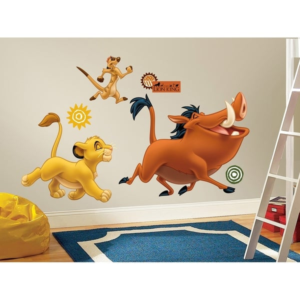 The Lion King Peel & Stick Giant Wall Decals 10566245
