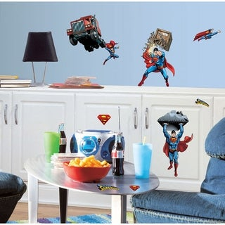 Superman Day Of Doom Peel & Stick Wall Decals