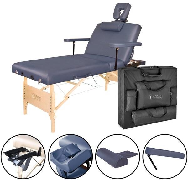Master Massage 31-inch Coronado Salon LX Massage Table Package