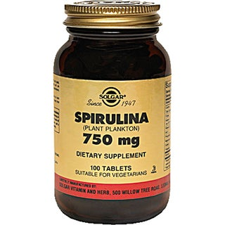 Solgar 750 mg Spirulina (100 Tablets)