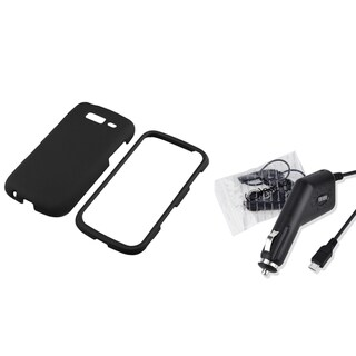 BasAcc Black Case/ Car Charger for Samsung Galaxy S Blaze 4G T769