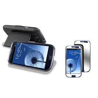 BasAcc Case/ Mirror LCD Protector for Samsung Galaxy S III/ S3