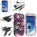 BasAcc Case/ Screen Protector/ Charger/ Headset for Samsung Galaxy S3