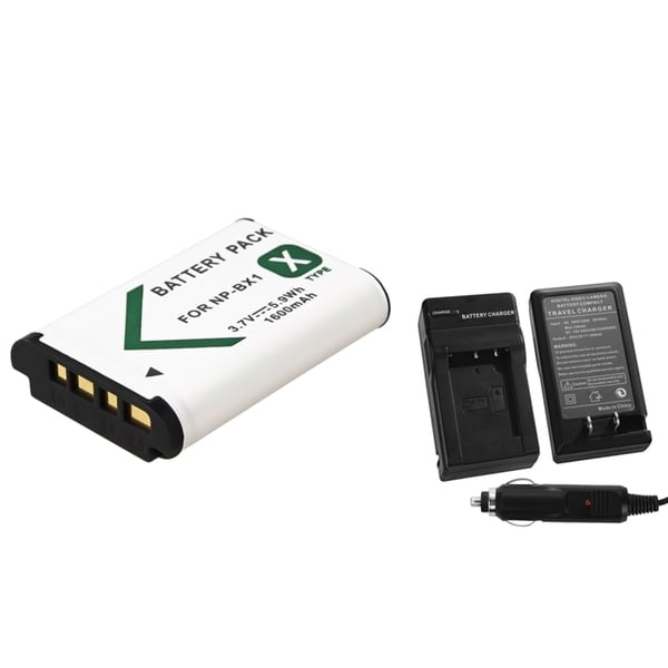 INSTEN Battery/ Charger Set for Sony Cybershot DSC-RX100