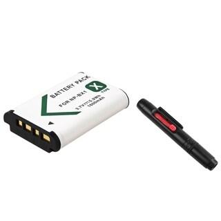 INSTEN Battery/ Lens Cleaning Pen for Sony Cybershot DSC-RX100
