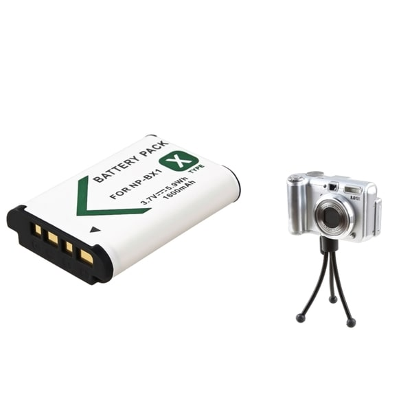INSTEN Battery/ Mini Tripod for Sony Cybershot DSC-RX100
