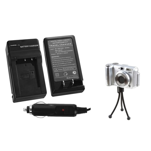 INSTEN Battery Charger/ Mini Tripod for Sony CyberShot DSC-RX100