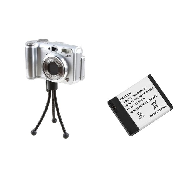 BasAcc Li-Ion Battery/ Mini Tripod for Gopro HD Hero HD/ Hero 2