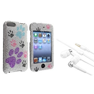 BasAcc Dog Paw Case/ Headset for Apple iPod Touch Generation 2/ 3