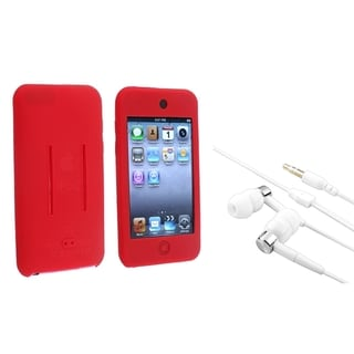 BasAcc Silicone Case/ Headset for Apple iPod Touch Generation 1/ 2/ 3