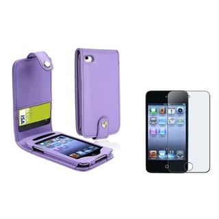 BasAcc Case/ Anti-glare Protector for Apple iPod Touch 4th Generation
