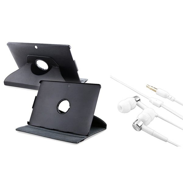 INSTEN Swivel Phone Case Cover/ Headset for Asus Eee Pad Transformer TF101
