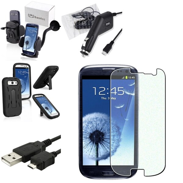 BasAcc Case/ Screen Protector/ Cable/ Mount for Samsung© Galaxy S3