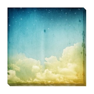 Sleepy Clouds II Oversized Gallery Wrapped Canvas