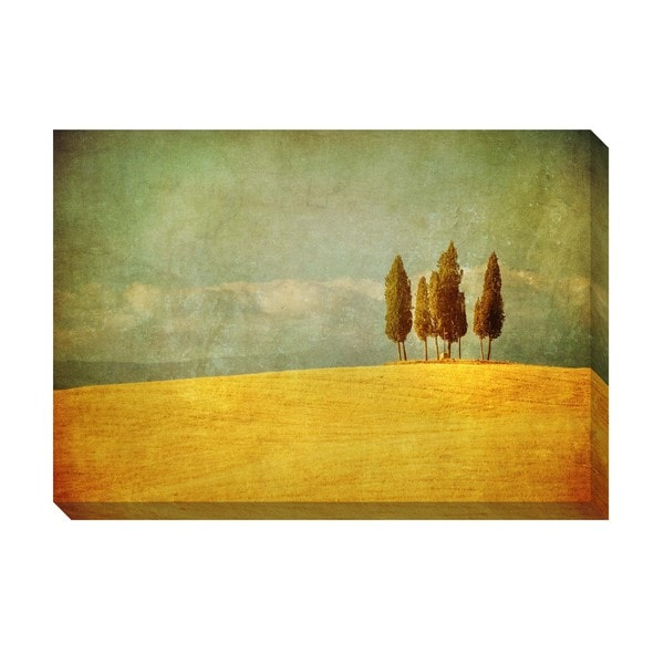 Countryside Oversized Gallery Wrapped Rectangular Canvas