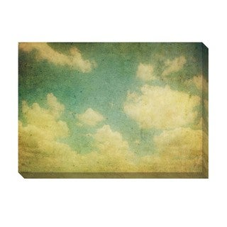Vintage Clouds III Oversized Gallery Wrapped Canvas
