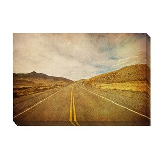 Gallery Direct On The Road Oversized Gallery Wrapped Canvas