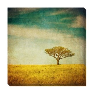 Vintage Tree I Oversized Gallery Wrapped Canvas