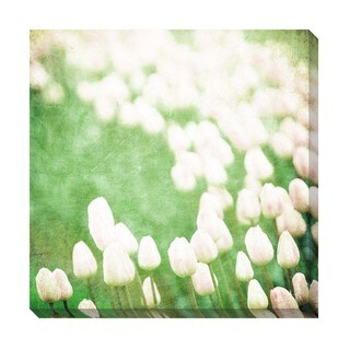 Gallery Direct Tulips Oversized Gallery Wrapped Canvas